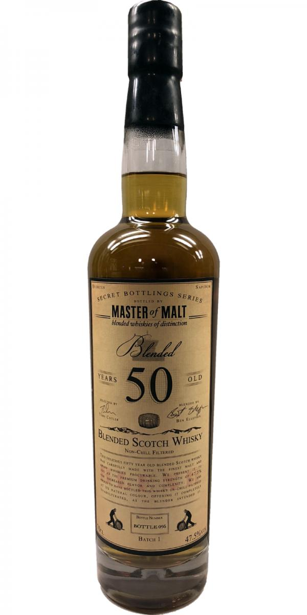Blended Scotch Whisky 50-year-old MoM