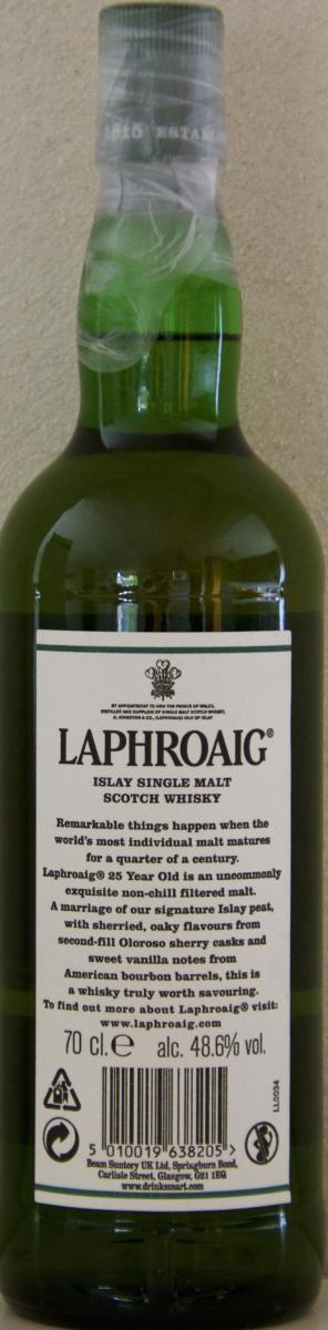 Laphroaig 25-year-old