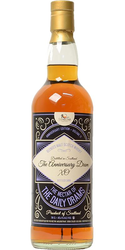 Blended Malt Scotch Whisky The Anniversary Dram - XO