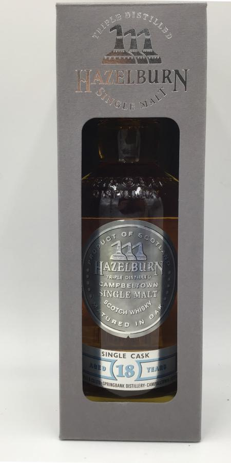 Hazelburn 18-year-old