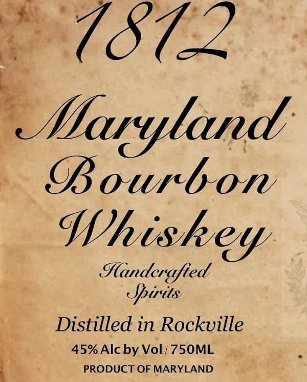1812 Maryland Bourbon Whiskey