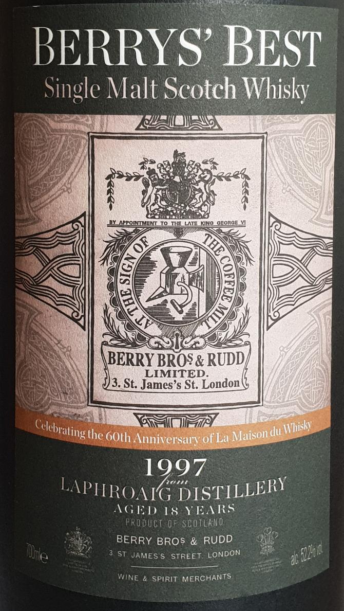 Laphroaig 1997 BR