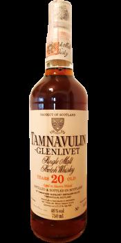 Tamnavulin 20-year-old