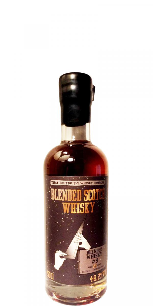 Blended Scotch Whisky #3 TBWC