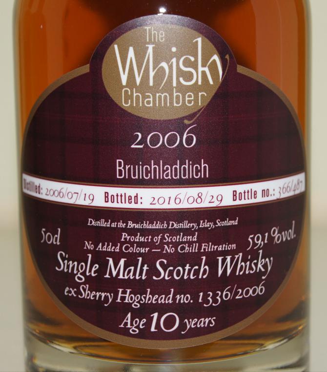 Bruichladdich 2006 WCh