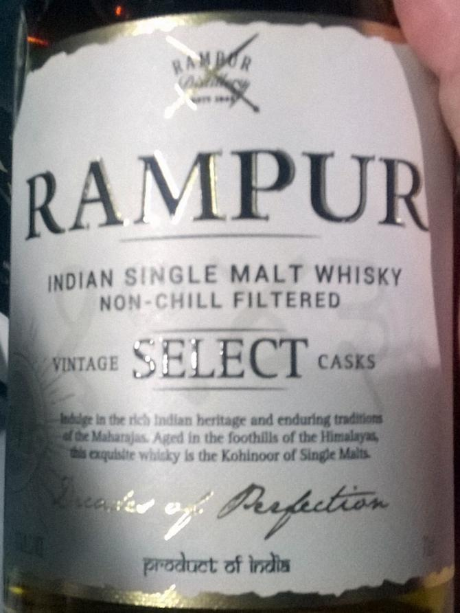 Rampur Vintage Select Casks