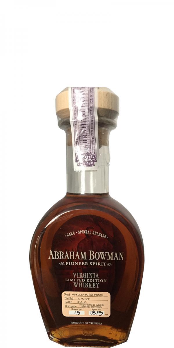 Abraham Bowman 2006