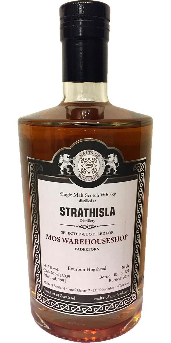 Strathisla 1992 MoS