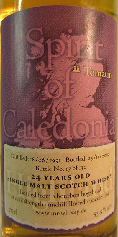 Tomatin 1991 MrW