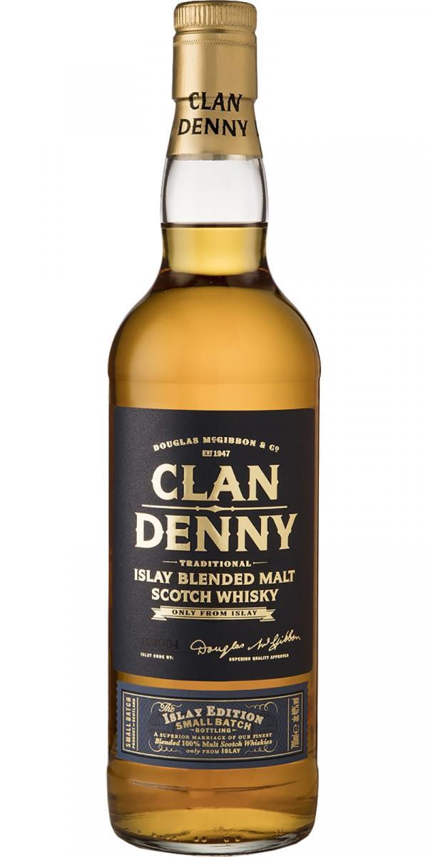 Clan Denny Traditional Islay Blended Malt