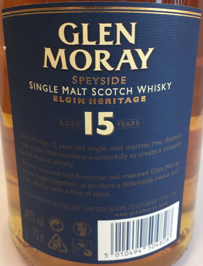 Glen Moray 15-year-old