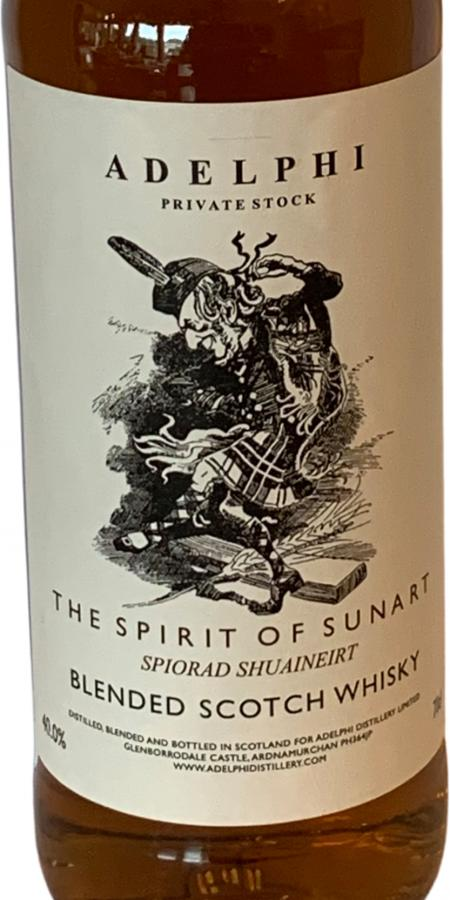 Private Stock The Spirit of Sunart AD