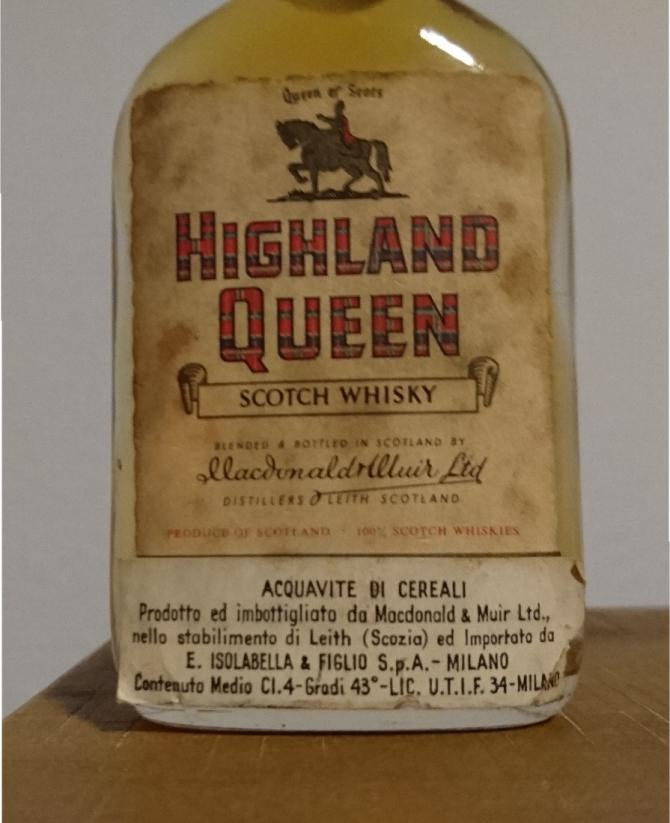Highland Queen Scotch Whisky