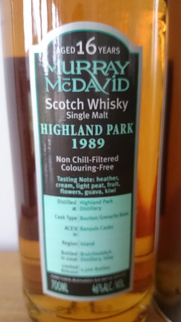 Highland Park 1989 MM