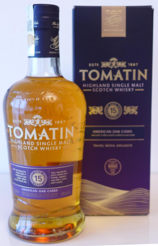 Tomatin 15-year-old