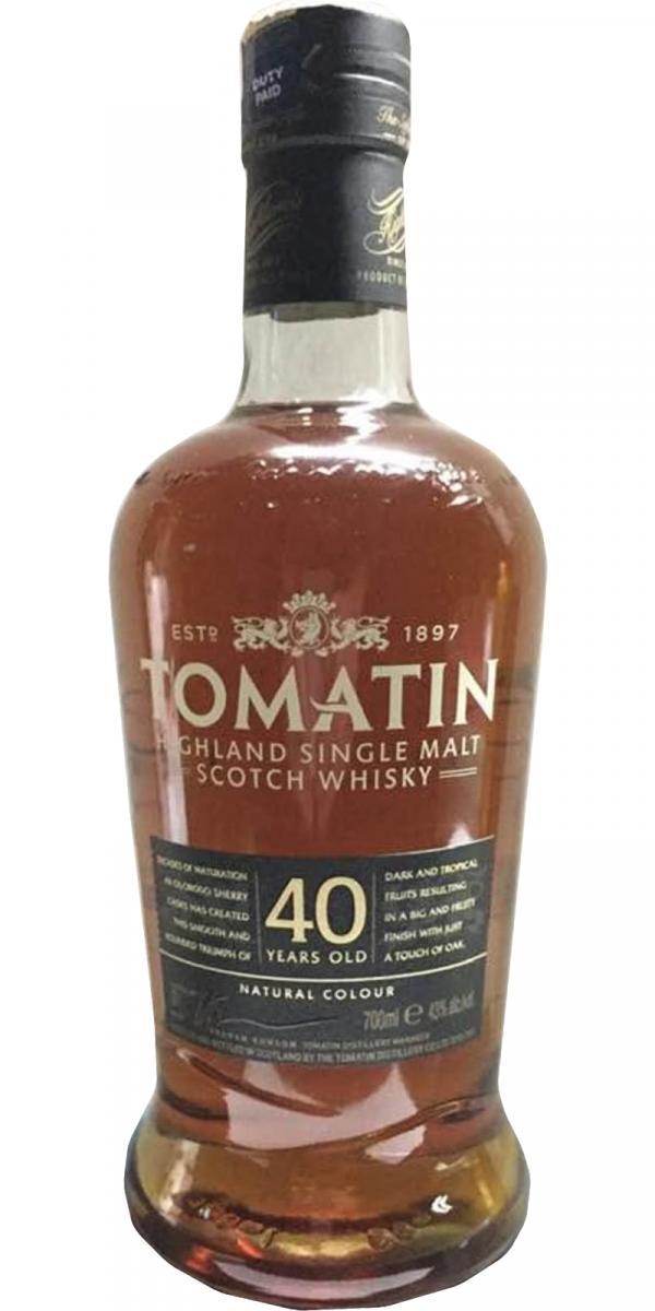 Tomatin 40-year-old
