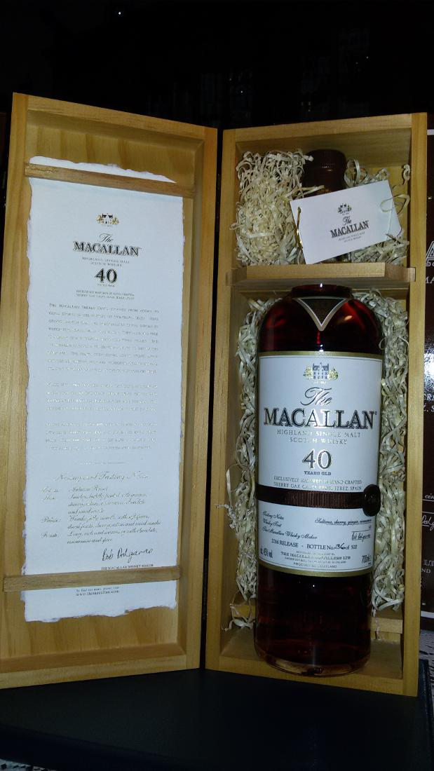 Macallan 40-year-old