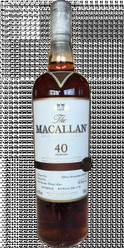 Macallan 40-year-old