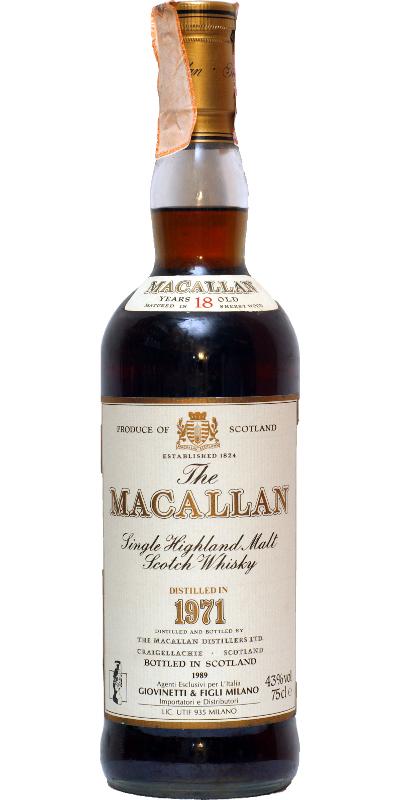 Macallan 1971