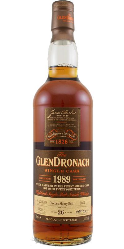 Glendronach 1989