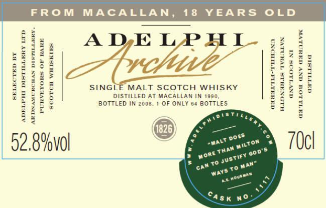 Macallan 1990 AD