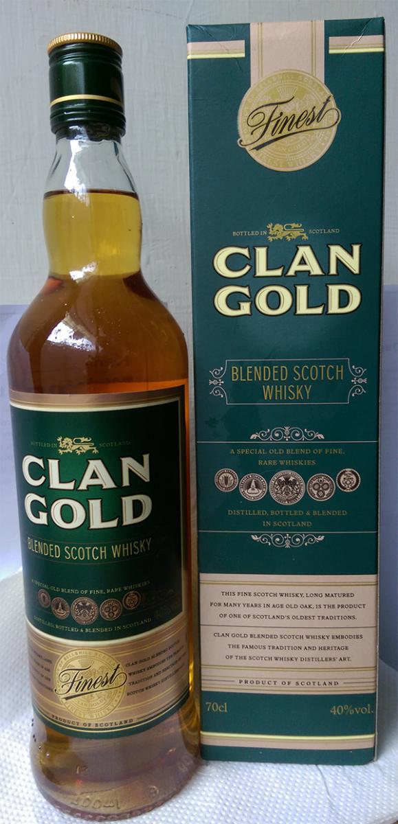 Clan Gold Blended Scotch Whisky