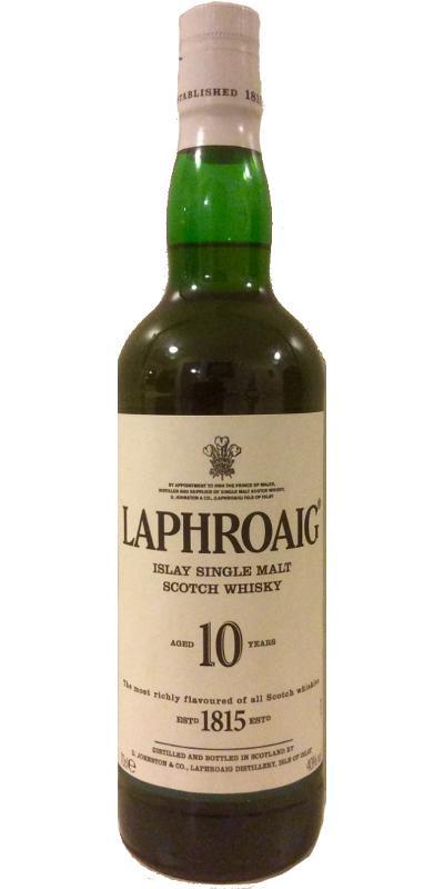 Laphroaig 10-year-old