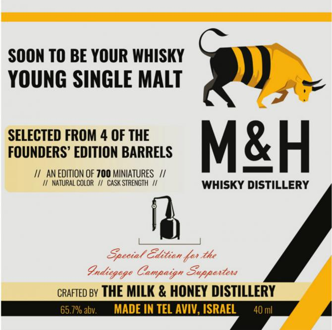 Milk & Honey Soon to be your Whisky