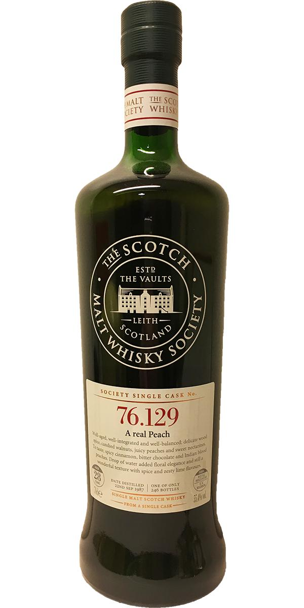 Mortlach 1987 SMWS 76.129