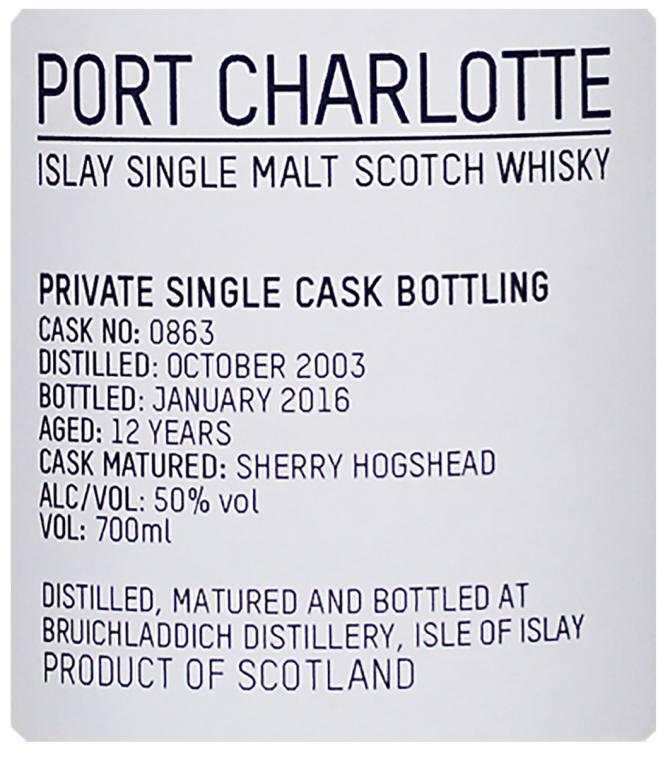 Port Charlotte 2003