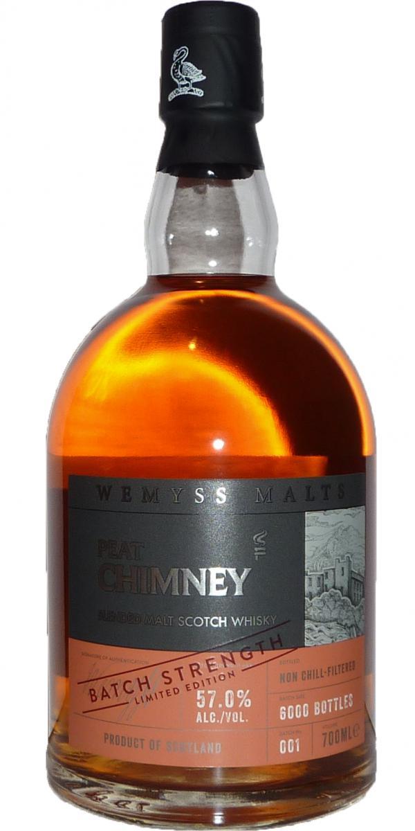 Peat Chimney Batch Strength 001 Wy