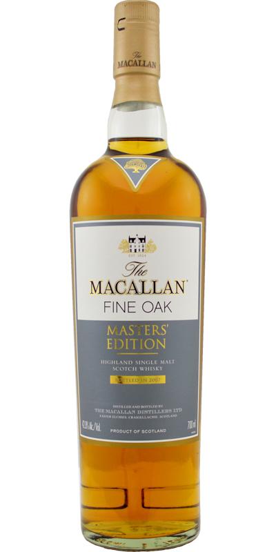 Macallan Masters' Edition