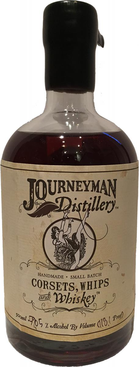 Journeyman distillery corsets whips and whiskey whiskybase for Big whiskey s