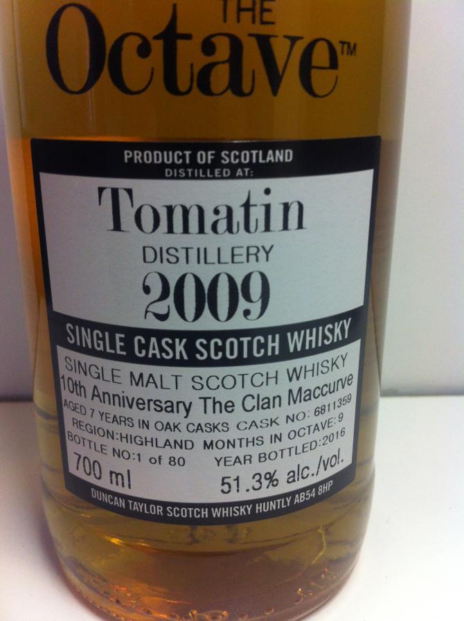 Tomatin 2009 DT