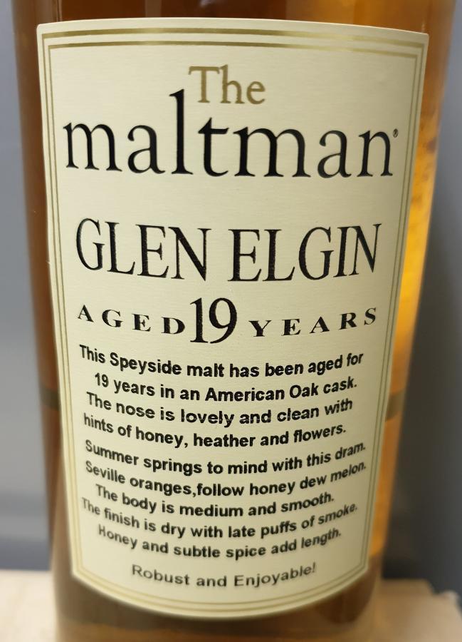 Glen Elgin 1978 MBl