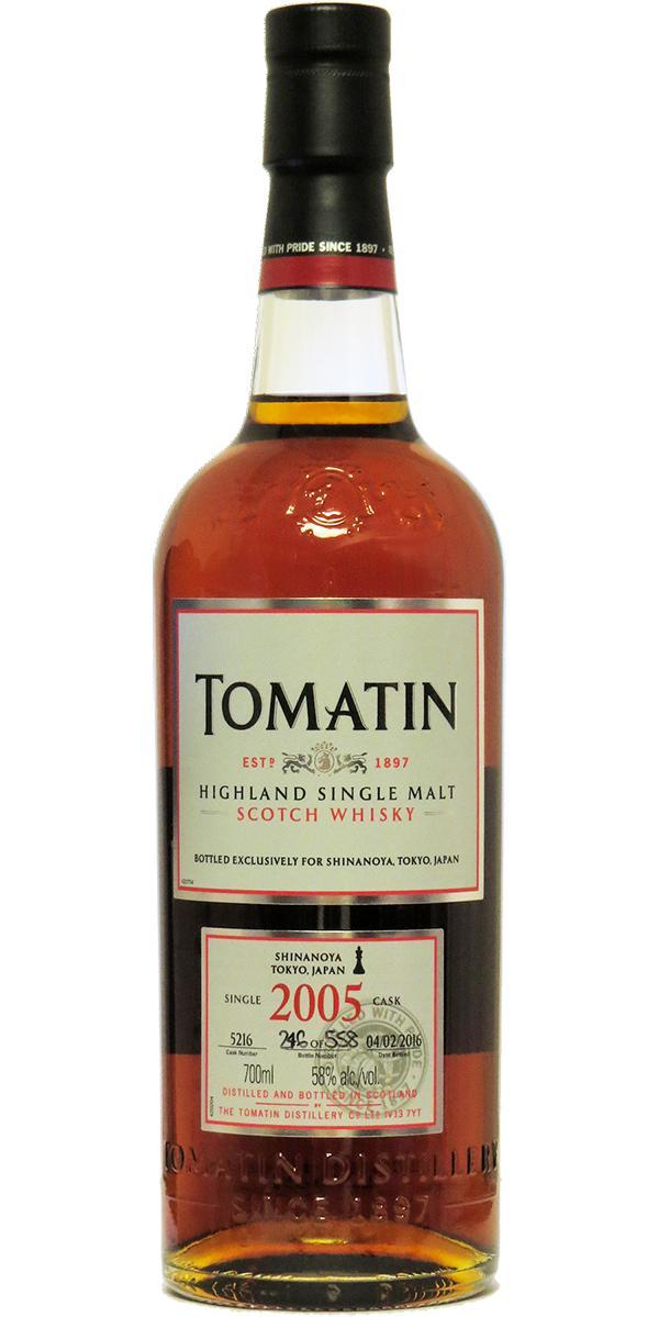 Tomatin 2005