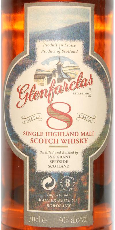 Glenfarclas 08-year-old