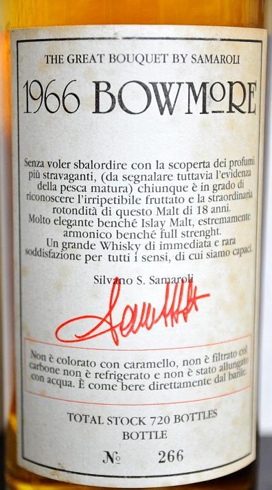 Bowmore 1966 Sa