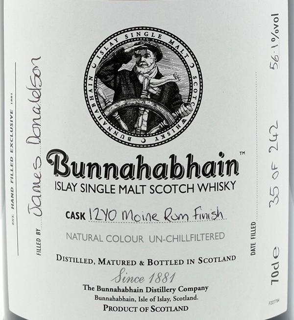 Bunnahabhain 12-year-old Moine