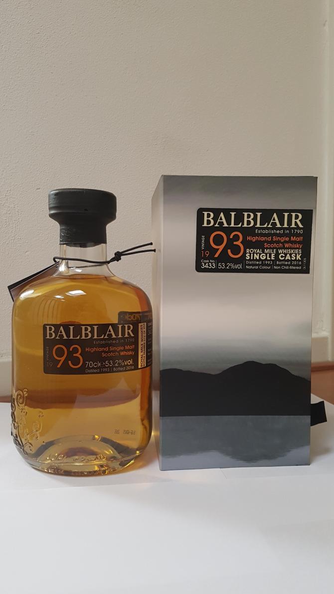 Balblair 1993