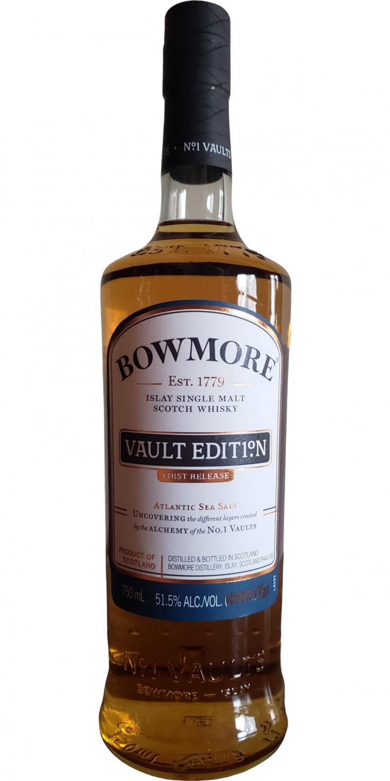 Bowmore Vault Edit1°N