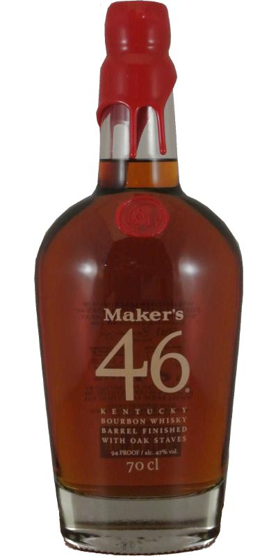 Maker's 46 Red Wax