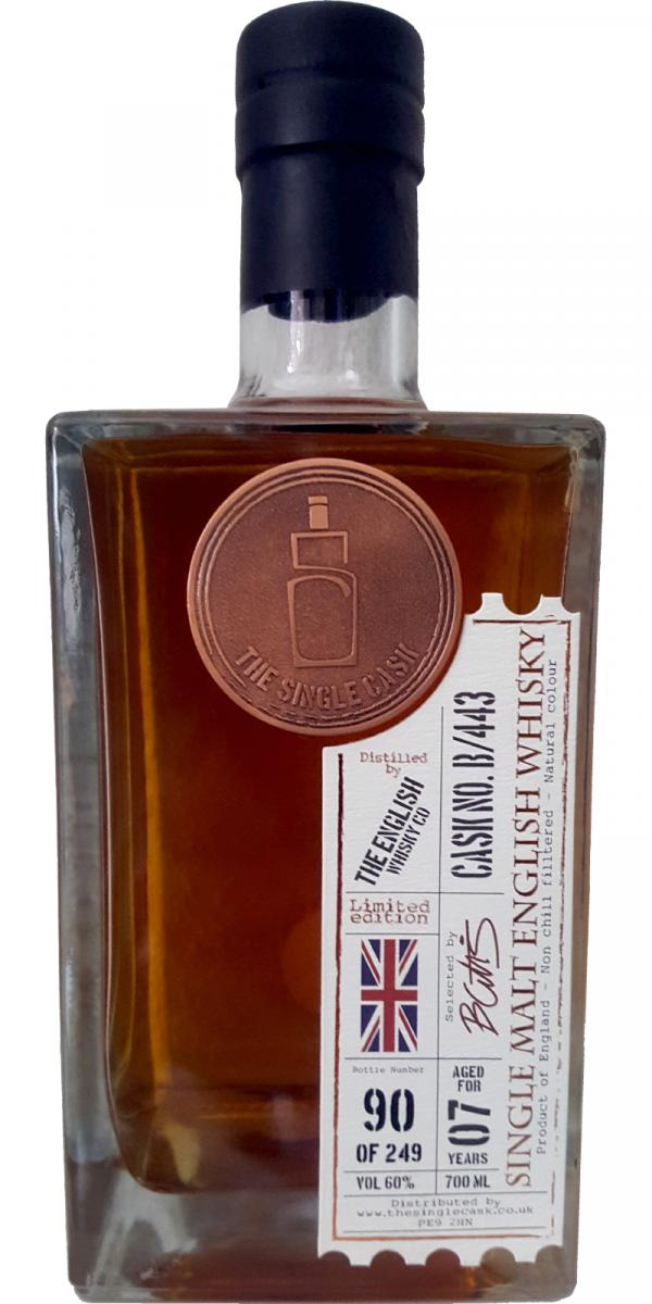 The English Whisky 07-year-old TSCL