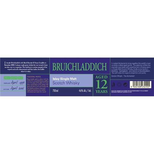 Bruichladdich 1993 Al