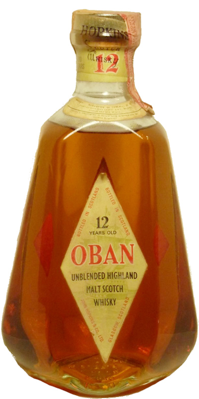 Oban 12-year-old - Unblended Highland Malt
