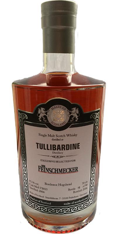 Tullibardine 2006 MoS