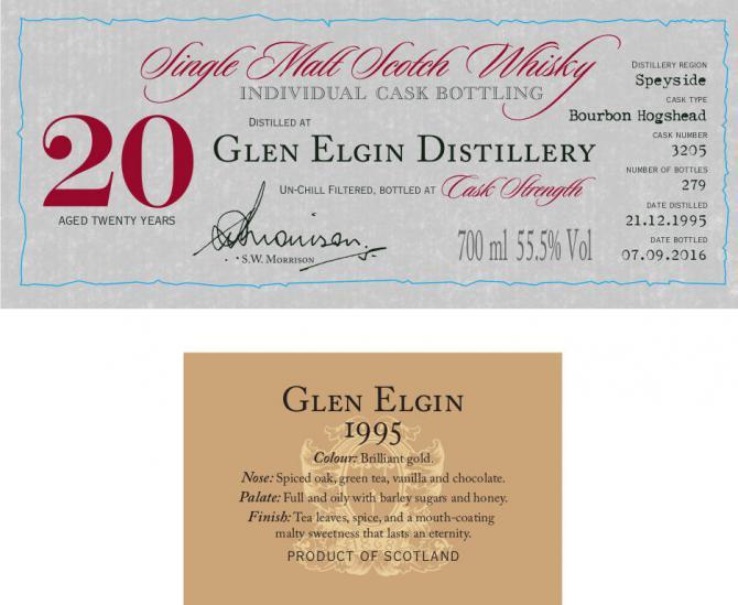 Glen Elgin 1995 DR