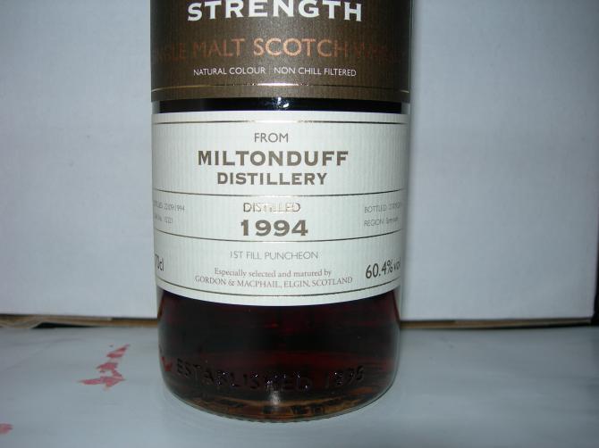 Miltonduff 1994 GM