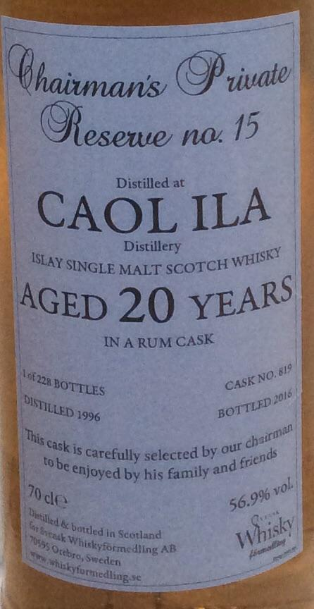Caol Ila 1996 SWf
