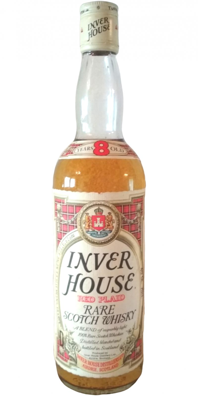 Inver House 08-year-old - Red Plaid